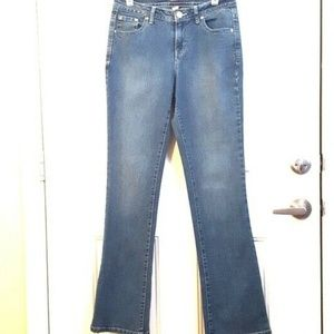 STYLE & CO. 6L Mid Rise CURVY MODERN BOOT Jeans